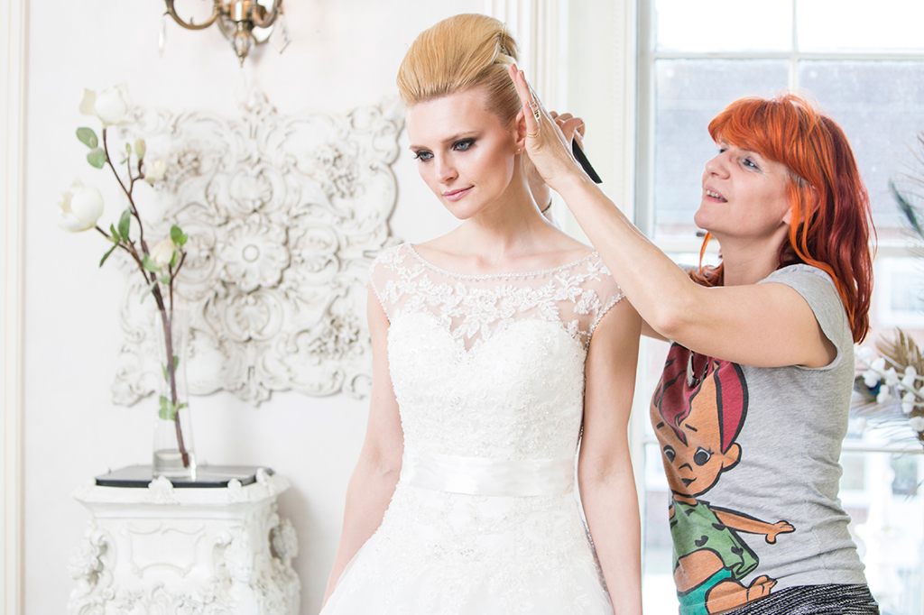 Desire wedding hair gallery by Anne Veck