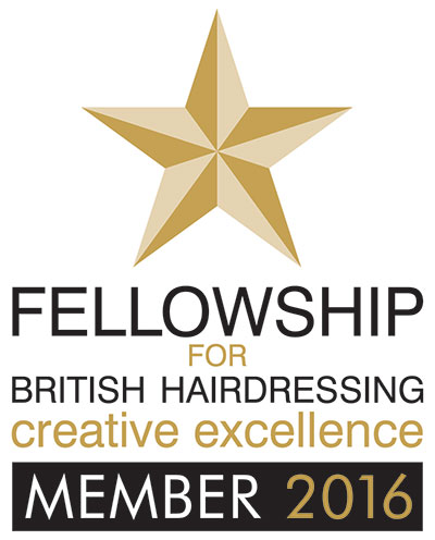 Fellowship for British Hairdressing Creative Excellence Member 2016