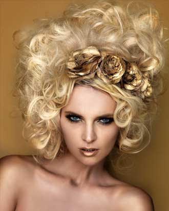 The Midas Touch, hair by Anne Veck
