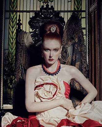 Opulence, hair by Anne Veck