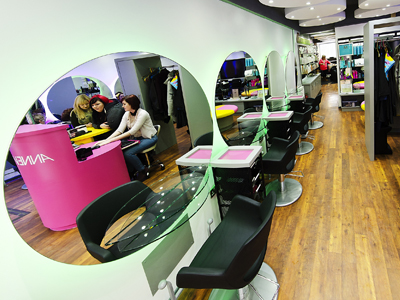 The Anne Veck eco hair salon oxford