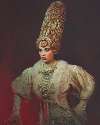 Rococo hair gallery by Anne Veck
