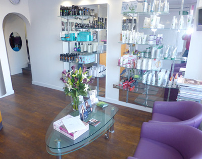The Anne Veck Bicester Hair Salon, located on the Causeway