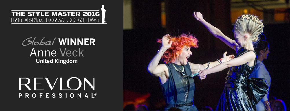 Anne Veck Southern Hairdresser of the Year 2016