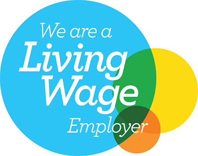 Anne Veck Salons Oxford and Bicester are a Living Wage Employer