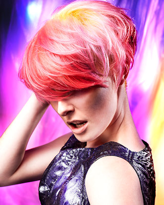Norther Lights hair gallery by Anne Veck