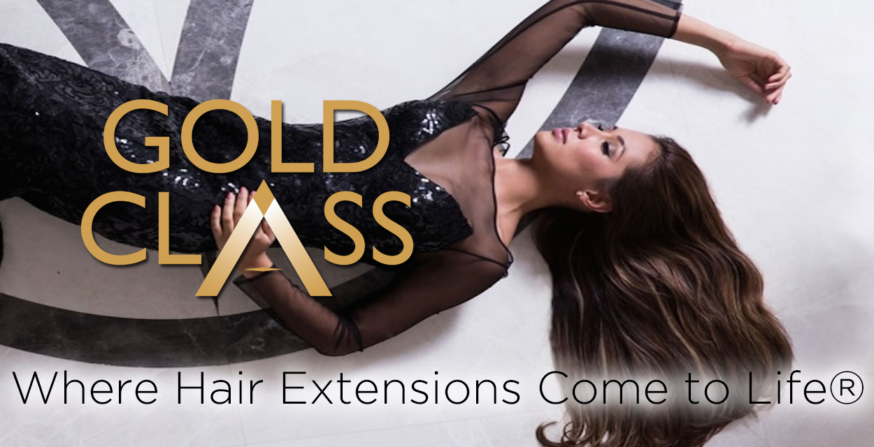 Gold Class Hair Extensions at Anne Veck Salons Oxford