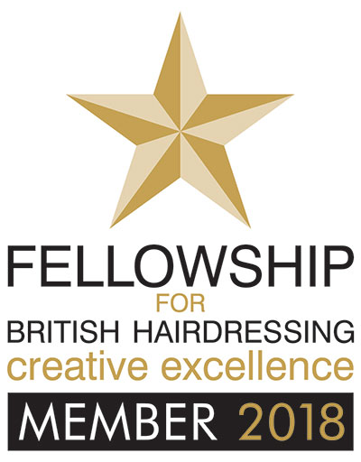 Fellowship for British Hairdressing Creative Excellence Member 2018