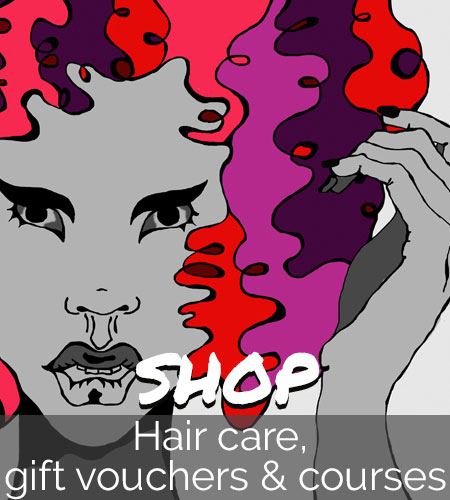 Hair care, gift vouchers and courses