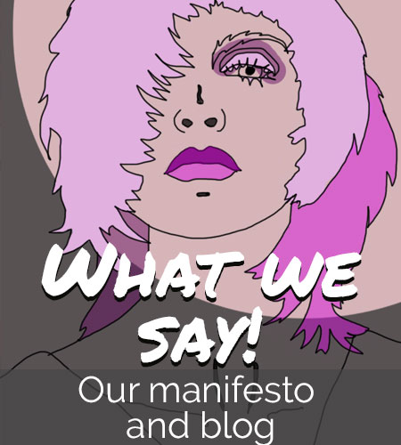 Our manifesto and blog