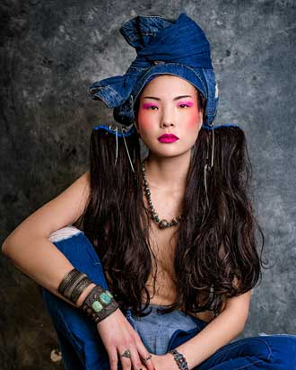 Tribal Denim hair gallery by Anne Veck